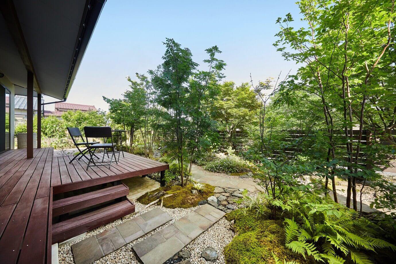 心を豊かに、暮らしやすく。ガーデンデスタジオ雅楽庭