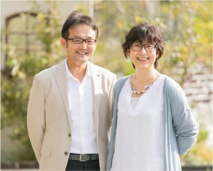 野瀬夫妻の写真