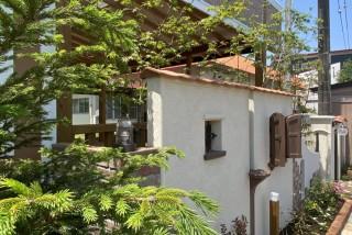 こども園のお庭・外構 安全でおしゃれな南欧風デザイン。