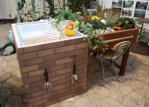 レイズドベッド花壇、家族で楽しもう!ガーデニング、家庭菜園