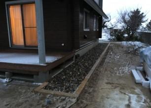 阿賀野市S様邸 雨落ち排水工事