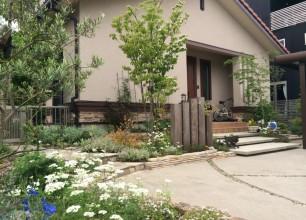 「心休まる木陰の庭へ」新潟市M様邸のお庭