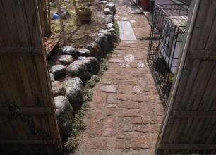 花壇の改修工事 五泉市Y様邸