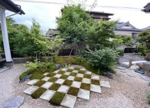 深い緑に癒されて 新潟市北区S様邸 お庭・外構工事のOB様訪問