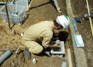 暗渠排水工事について