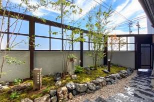 荒れたお庭を大改造。手入れが楽な和モダンの庭にリフォーム。
