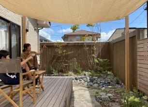 開放感のある暮らし 新発田市T様邸のお庭