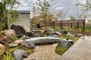 眺める庭からゆったり過ごせる庭へ。枯山水とナチュラルガーデン 新発田市T様邸