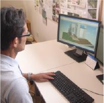 打合わせでは、CADによるプランニングで イメージを具体的につかむことができます。